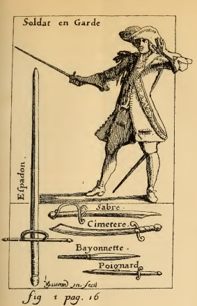 From Gaya's 1678 guide Traité des armes.